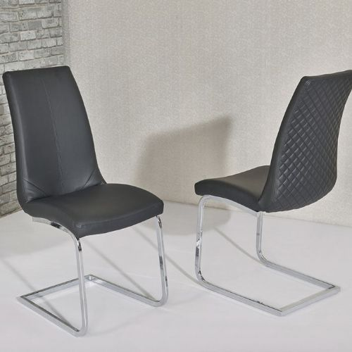 Kelcy Black Dining Chair